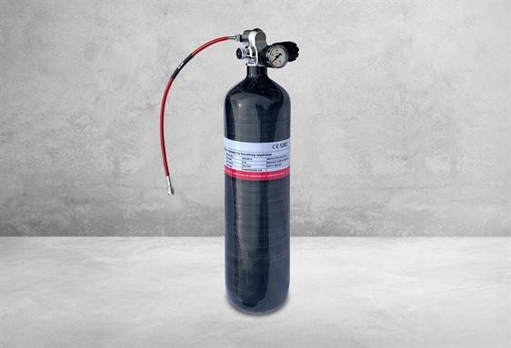 300 bar Carbon Dykkerflaske - 3 liter