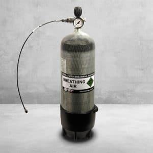 300 bar Carbon Dykkerflaske - 9 liter