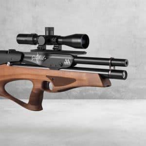 Air Arms Galahad HP Carbine 4,5 mm, Valnød