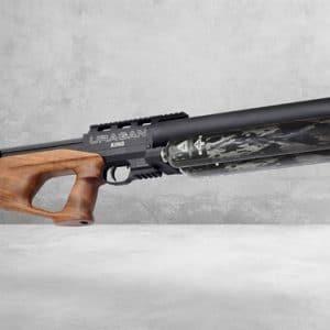 Airgun Technology Uragan King 4,5 mm, Valnød